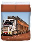 Roadtrain Duvet Cover