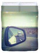 Roadtrip, Us Freeway Duvet Cover