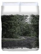Roadway Fingers Lakes New York Area Pa 02 Duvet Cover
