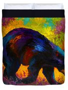Roaming - Black Bear Duvet Cover