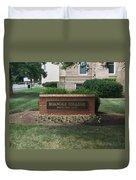 Roanoke College Sign Duvet Cover