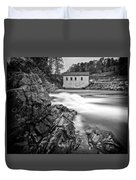 Roanoke River Flow Duvet Cover