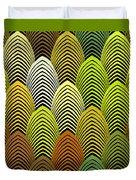 Roaring 20's Yellow Duvet Cover
