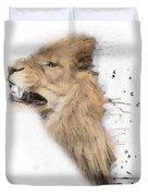 Roaring Lion No 04 Duvet Cover