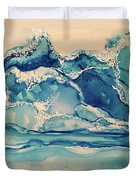 Roaring Waves Duvet Cover