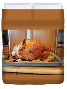 Roast Turkey Duvet Cover
