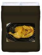 Roasting Half Chicken, 4 Of 4 Duvet Cover