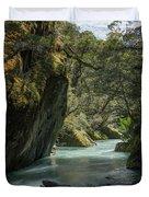 Rob Roy Stream New Zealand Duvet Cover