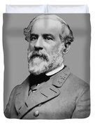 Robert E Lee - Confederate General Duvet Cover