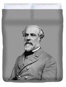 Robert E Lee - Confederate General Duvet Cover