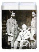Robert E Lee Duvet Cover
