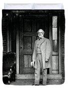 Robert E. Lee In Richmond, Virginia Duvet Cover