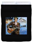 Robert Johnson Mississippi Delta Blues Duvet Cover