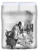 Robert Koch, German Bacteriologist Duvet Cover