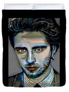 Robert Pattinson Duvet Cover