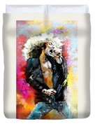 Robert Plant 03 Duvet Cover
