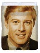 Robert Redford, Actor Duvet Cover