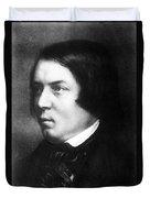 Robert Schumann, German Composer Duvet Cover