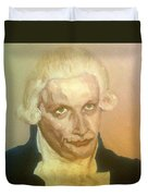 Robespierre Frowns  Duvet Cover