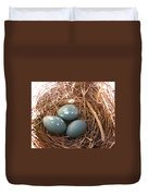Robin Eggs Duvet Cover