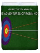 Robin Hood Movie Poster Duvet Cover