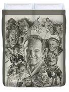 Robin Williams Duvet Cover