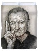 Robin Williams Duvet Cover