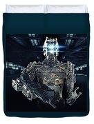Robot Assassin Duvet Cover