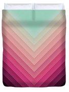 Robot Sunrise Duvet Cover