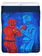 Robot Wars Duvet Cover