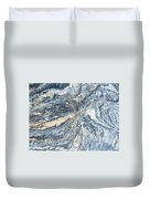 Rock Abstract Duvet Cover
