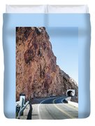 Rock And Road Duvet Cover