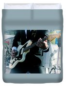 Rock And Roll 2 Duvet Cover
