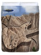 Rock And Roll Park 2 Duvet Cover