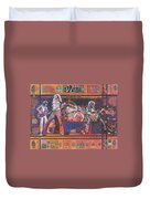 Rock And Roll Duvet Cover