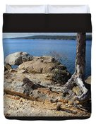 Rock And Root Duvet Cover