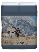 Rock And Sand Duvet Cover