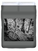 Rock And Trees Duvet Cover