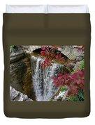 Rock City Falls Duvet Cover