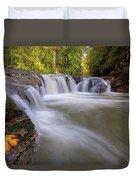 Rock Creek In Happy Valley Oregon Duvet Cover