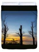 Rock Creek Silhouette Duvet Cover