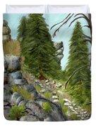 Rock Creek Duvet Cover