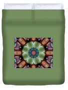 Rock Flower Duvet Cover