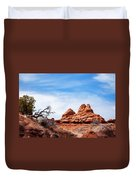Rock Formations At Kodachrome Basin State Park, Usa Duvet Cover