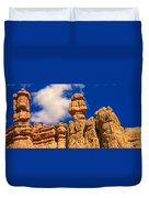 Rock Formations, Bryce National Park Duvet Cover