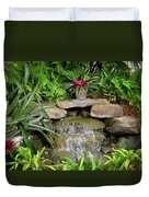 Rock Fountain IIi Duvet Cover