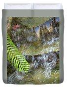 Rock Fountain Duvet Cover