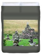 Rock Garden  Duvet Cover