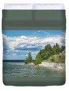 Rock Island Summer Duvet Cover