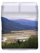 Rock Lake Duvet Cover